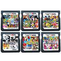 Nintendo Cartridge-Card Video-Game Super-Combo Compilation for DS Not-Packed Not-Packed