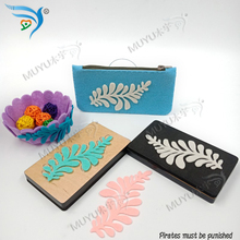 S-type flower/ mold / assembly wood laser template/Assembled