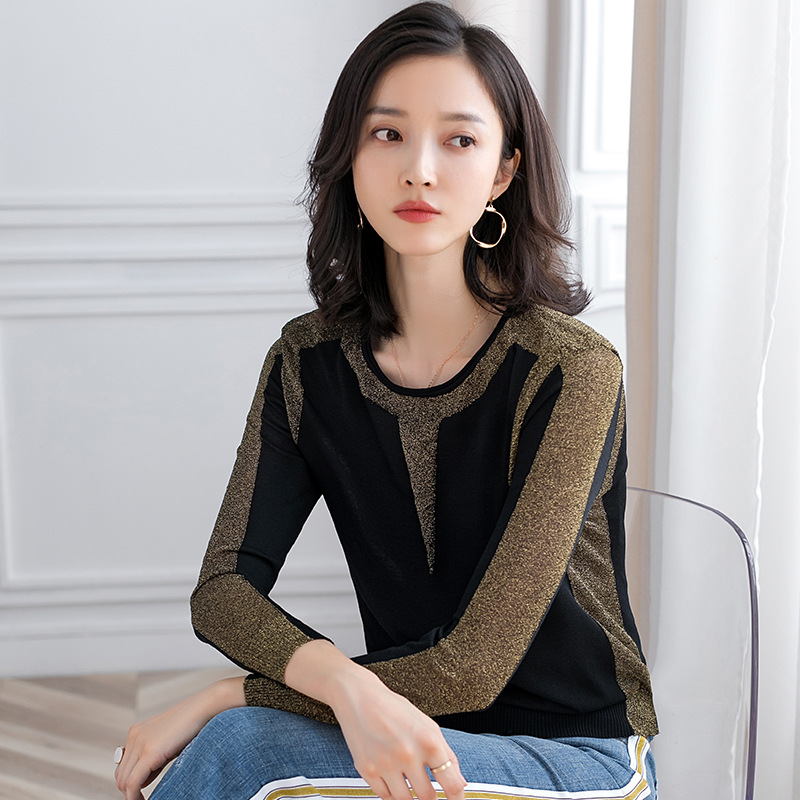 Knitted Pullovers Women Sweaters 2019 Autumn Light Silk Batwing Sleeve Fashion Chic Pullover Jumpers Pull Femme Female Knit Top
