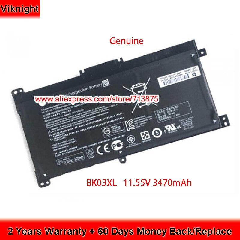 Genuine 11.55V 3470mAh BK03XL 916366-541 916811-855 Battery For Hp Pavilion X360 X360-14-BA101NG HSTNN-UB7G TPN-W125