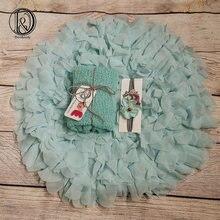 Don & judy/коврик в цветочном стиле с подходящими повязками