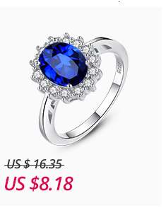 Ha613cd75d95c49c1b21450586caad338c CZCITY Princess Diana William Kate Gemstone Rings Sapphire Blue Wedding Engagement 925 Sterling Silver Finger Ring for Women