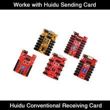 Carte de réception R508 R516 R512 R612 fonctionne avec synchronisation des couleurs et carte d'envoi Asyn/boîte, Port 50 broches/HUB75E
