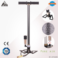 New 4500PSI 30mpa High Pressure Airgun Pcp Pump with Dry Air system filter airsoft Paintball pump not hill pcp pump