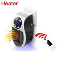 Radiateur électrique Portable 500W, chauffage à distance, prise murale, pour la maison, chauffage à distance, poêle