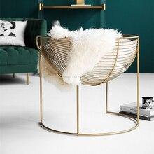 Стул Северная Европа современный лаконичный сольный главный стул сеяное кресло спальня балкон досуг диван стул Макияж стул
