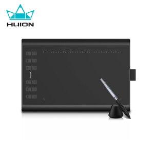 Оригинальный планшет Huion H1060P с графическим рисунком, профессиональный цифровой планшет с микро-usb, пассивная ручка без батареи, планшет для ...