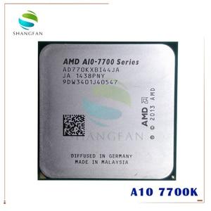 AMD A10-Series A10 7700K A10 7700 A10-7700K 3.4 GHz Quad-Core CPU Processor AD770KXBI44JA Socket FM2+
