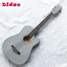 38-inch Ballad Guitar Basswood Guitar Metal String Button Guitar Beginners Practice Brushing Guitar JT15 38 inch acoustic guitar for beginners folk guitar 6 strings basswood guitar 13 colors high quality music instruments agt16