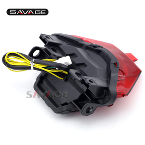 Image 5 - LED YAMAHA MT 07 FZ 07 14 17, MT 25 MT 03 YZF R3 R25 2014 2020 entegre led arka lambası dönüş sinyali gösterge motosiklet B