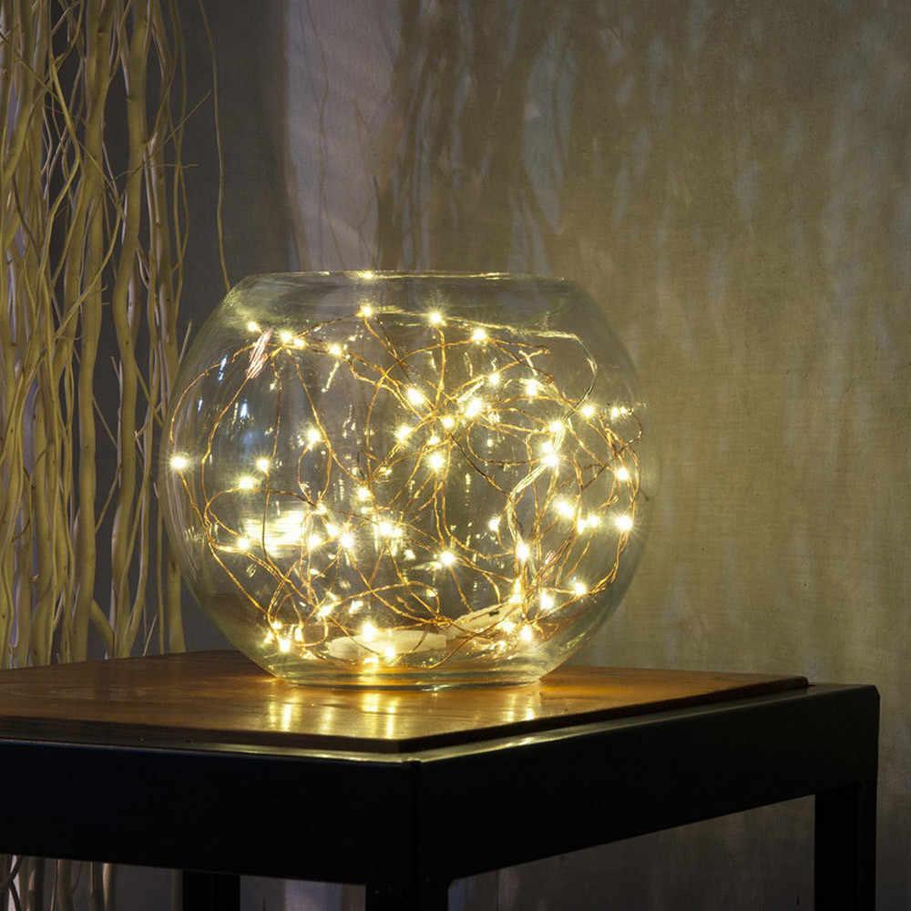 สตริง 1 เมตรสนุก Fairy Tale World 10 LED แบตเตอรี่ Multicolor คริสต์มาสไฟตกแต่งงานแต่งงานและงานปาร์ตี้ #10