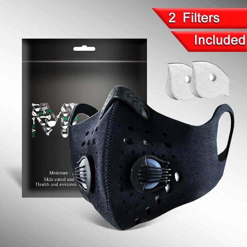 สินค้าใหม่ฝุ่น Neoprene หน้ากากกีฬาแฟชั่นพิมพ์ผ้าฝ้าย PM2.5 หมอกควันขี่จักรยานหน้ากากหน้ากากออกกำ...