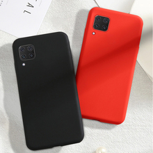 For Huawei Nova 7i Case Soft Luxury Liquid Silicone Smooth Phone Bumper Case Nova 7i Protective Back Cover For Huawei Nova 7i эллиптический эргометр horizon andes 7i viafit