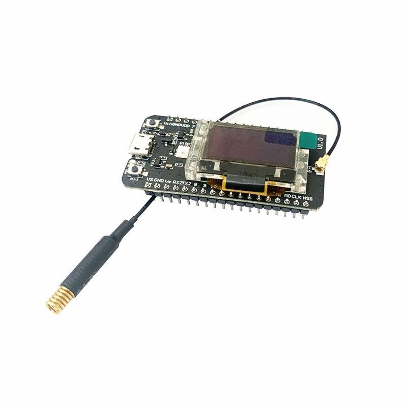 Aplicações do nó de cubecell GPS-6502 asr6502 lora gps/nó de lorawan para com antena
