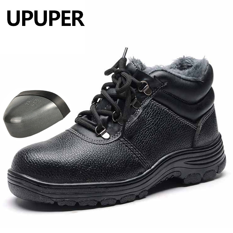Uomini Stivali da Lavoro Puntale in Acciaio Scarpe da Uomo Scarpe Scarpe di Sicurezza Sul Lavoro di Puntura Prova per Gli Uomini Scarpe da Ginnastica Casual Scarpe Maschili 2019