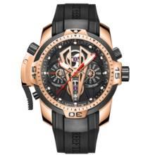 Reef Tiger/RT Luxury Sport Watch Men Luminous Top Brand Rose Gold Watch Mechanical Mens Waterproof Relogio Masculino RGA3591