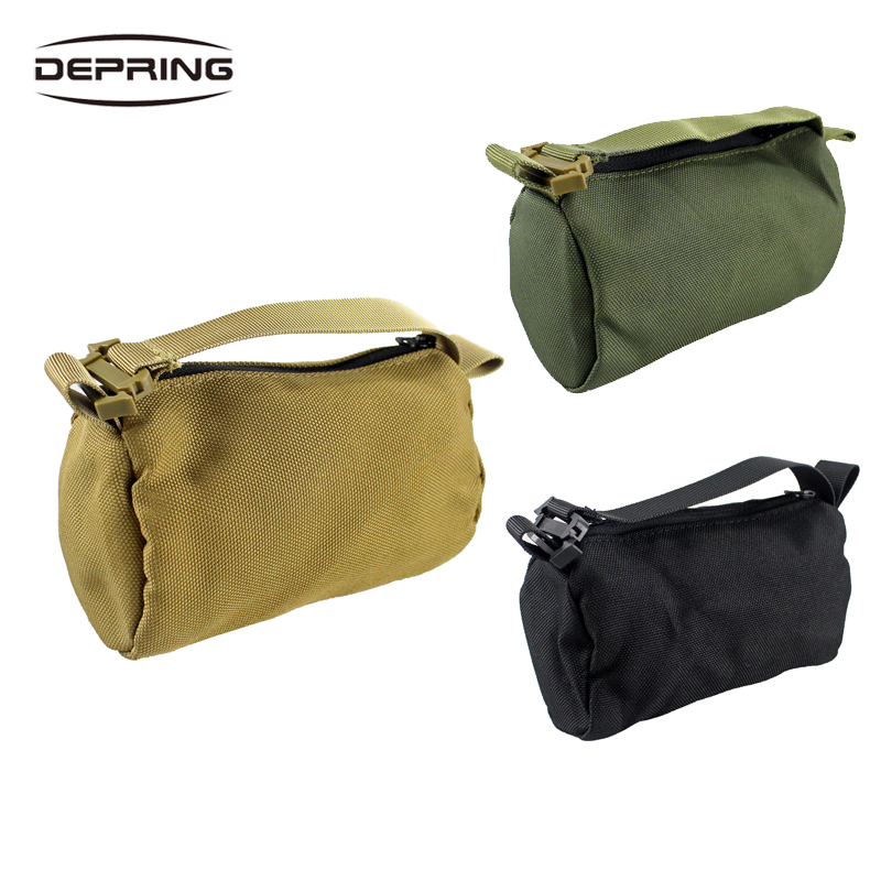 8*15cm Tactical Shooters Unfilled Shooting Stand Sandbag Versatile Support Sand Bag For Hunting Shooting Hiking Accessories