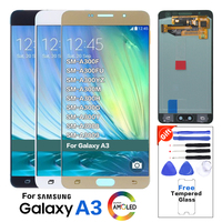 Супер AMOLED для samsung Galaxy A300 ЖК-дисплей сенсорный экран дигитайзер для samsung A3 2015 ЖК A300H A300F A300Y A300 дисплей