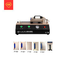 TBK-768 auto curved touch screen OCA film fitting machine for S6 S7 edge plus