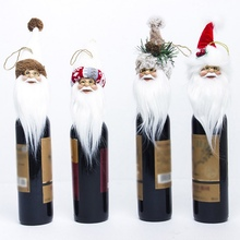 Get more info on the Santa Claus Shape Wine Set Christmas Tree Toppers Home Decor Ornaments Christmas Tree Decor Cute Kids Gifts CM