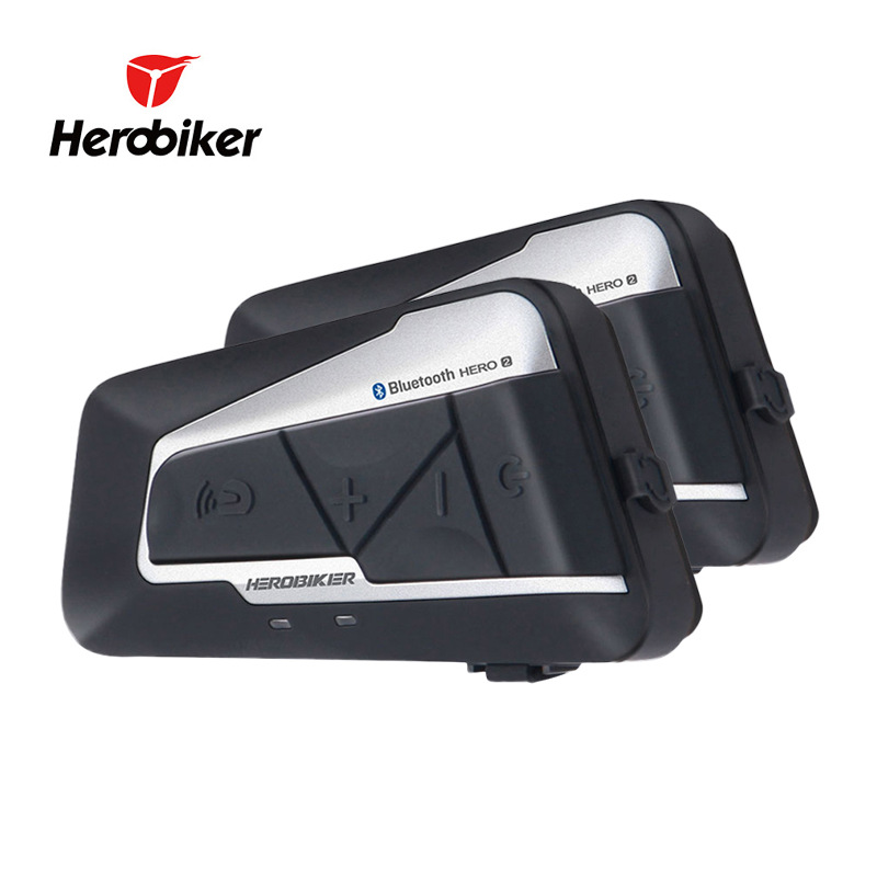 Herobiker Motorcycle Bluetooth Helmet Parts Intercom Earpiece Waterproof Wireless Bluetooth Headset
