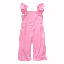 1-6t girl overalls kids jumpsuit for girls playsuit baby dungarees pink button outfits salopette garcon toddler clothes
