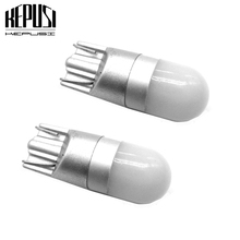 цена на 2x T10 Led Canbus W5W Led Bulbs 168 194 Car Interior Lights Signal Lamp Dome Reading License Plate Light Auto 12V White