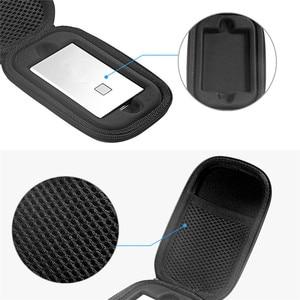 Image 4 - Étui de protection de stockage EVA pour Samsung T7 Touch Portable SSD disques statiques externes sac de transport avec couvercle en Silicone