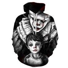 halloween print scared sweatshirt men streetwear harajuku sweatshirts clothes 2018 casual skulls cotton cosplay 3d hoodies