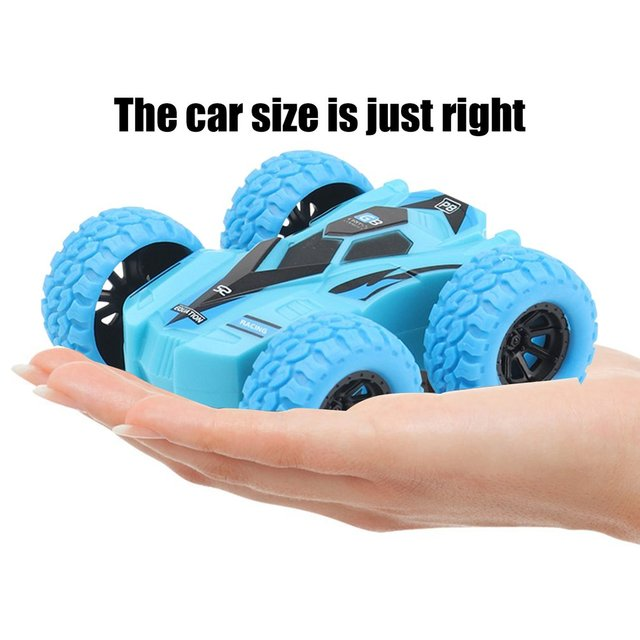 Children Inertia Double-sided Dump Truck Resistant Falling 360 Tumbling Spinning Toy Car Turned To Kid Gift Toys 5