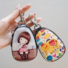 Key Wallets Key-Case Women Cartoon Zipper Cute Fashion for New Lovely