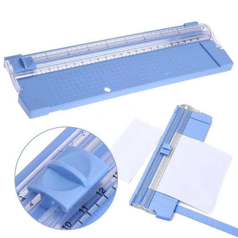 A4/A5 נייר גוזם ABS נייד דיוק נייר תמונה סתגלן קאטר Scrapbook גוזם לבית כתיבה ספר אקראי צבע