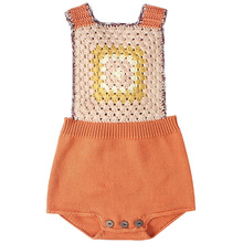 New 2019 Winter Knitted Baby Rompers for Girls Boys Clothes Infant Toddler Overalls Sleeveless Pattern Kids Jumpsuit Costume overalls huppa for boys 8959534 baby rompers jumpsuit children clothes kids