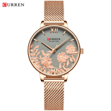 CURREN Luxury Stainless Steel Strap Wristwatch