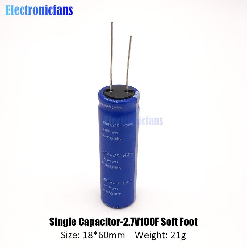 Very Low ESR. Ultracapacitor 2.7V Capacitor Supercapacitor 5F Farad