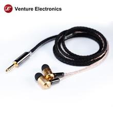 Venture electronics ve bie pro em fones de ouvido de alta fidelidade
