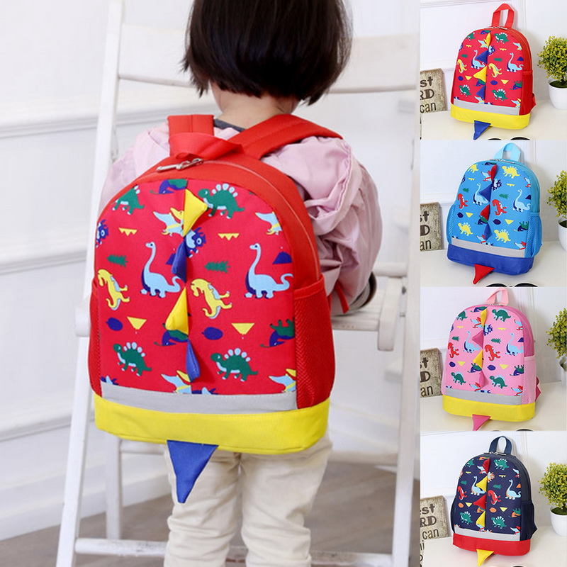 WENYUJH Backpack Mochila Knapsack Kids Bags Dinosaur Comfortable School Children's Cartoon