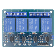 5v 4 Channel Relay module with optocoupler. Relay