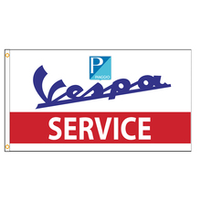 90x150cm Italy Vespa Service Flag
