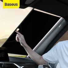 Baseus Auto Sonnenschutz Versenkbare Windschutzscheibe Auto Fenster Schatten Auto Vor Sonne Block Auto Hinten Fenster Faltbare Vorhang Sonnenschirm