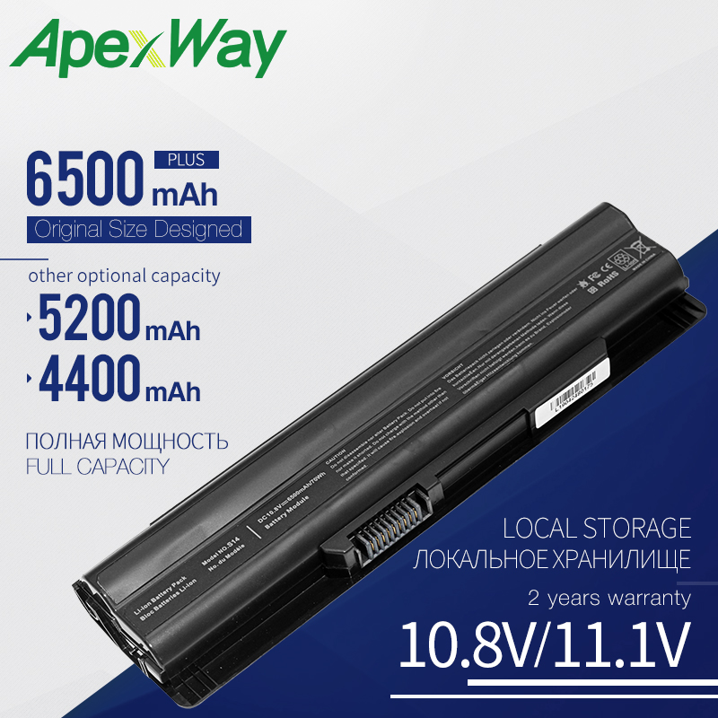 10.8V Laptop Battery For MSI BTY-S14 BTY-S15 FX400 FX600 FX610 FX700 Series for Medion Akoya Mini E1312 E1315 MD97125 MD97127(China)