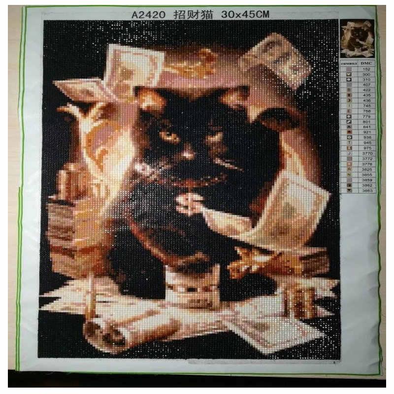 ダイヤモンド刺繍動物虎水着 DIY 5D ダイヤモンド塗装クロスステッチ野生動物セットフルドリルラインストーン絵画