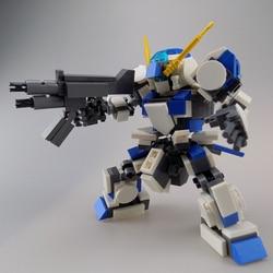 318 pçs design original mecha guerreiro blocos de construção brinquedos para crianças robôs armadura anime figura modelo 13cm ação soldado bonecas