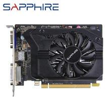 Sapphire r7 240 1gb placa gráfica gpu radeon r7240 1gb placas de tela de vídeo jogo de computador para amd mapa da placa de vídeo hdmi pci-e