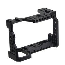 OPQ-For Dslr Handle Camera Cage for Sony A7Riii /A7Iii/A7Miii Aluminum Alloy Cage Quick Release Fits(China)