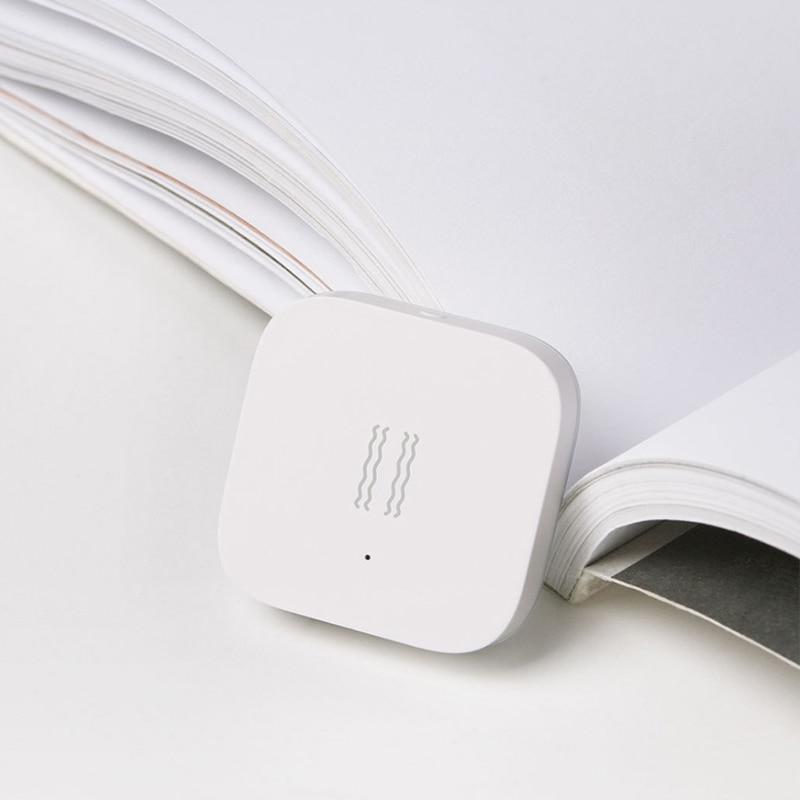 5PCS Aqara Vibration Sensor And Sleep Sensor Valuables Alarm Monitoring Vibration Shock Built In Gyro For Xiaomi Mi Home App Hot