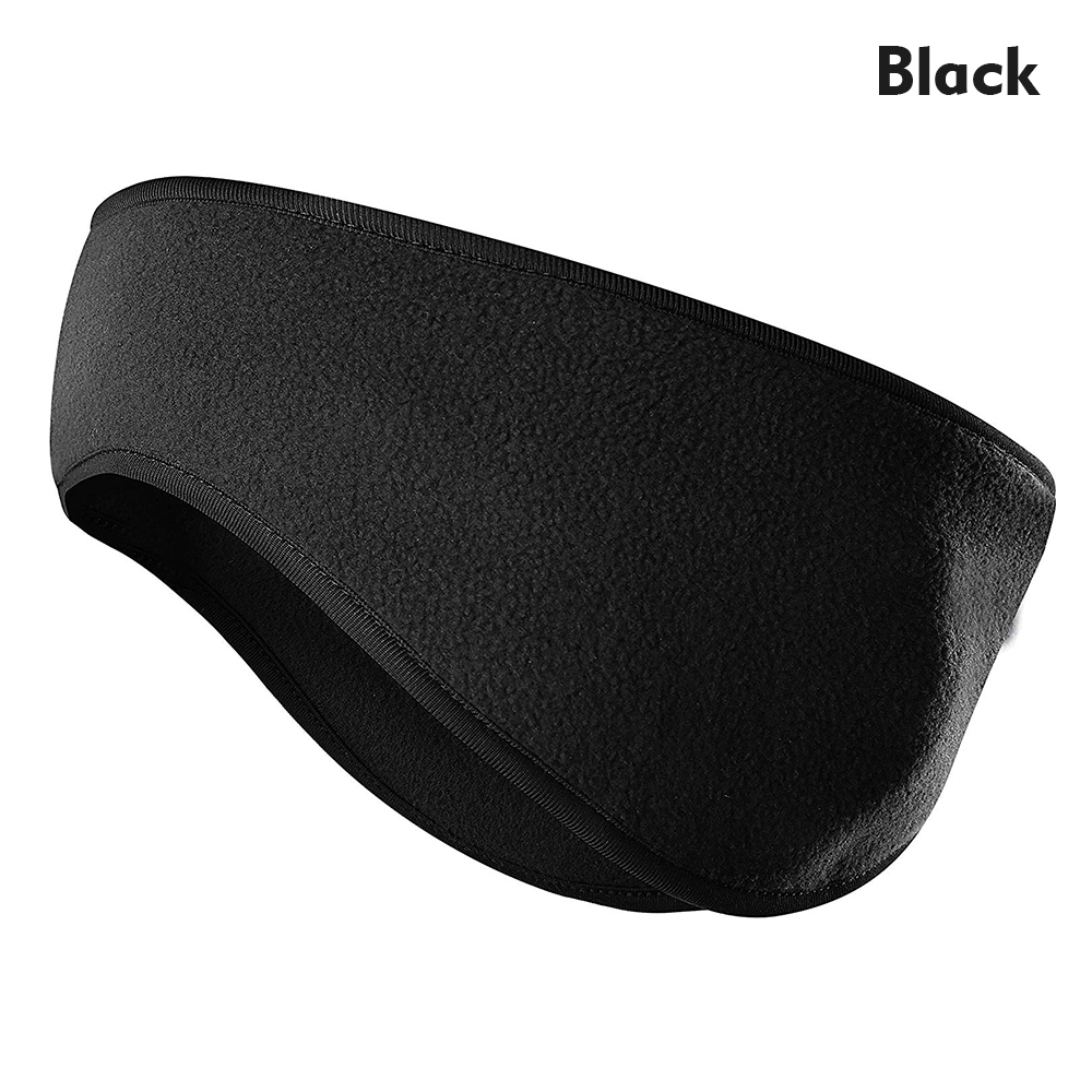 Lauzq Fleece Ear Warmers//Muffs Headband for Men /& Women /& Kids Perfect for Cycling Skiing Workout Yoga Running /& Riding Motorcycle in Winter Stay Warm /& Performance Stretch