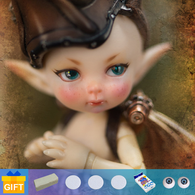 New arrival Realpuki Mimi Titi BJD Dolls 1/13 bjd fairyland Body Jointed resin doll Toys for Girl Birthday Gift