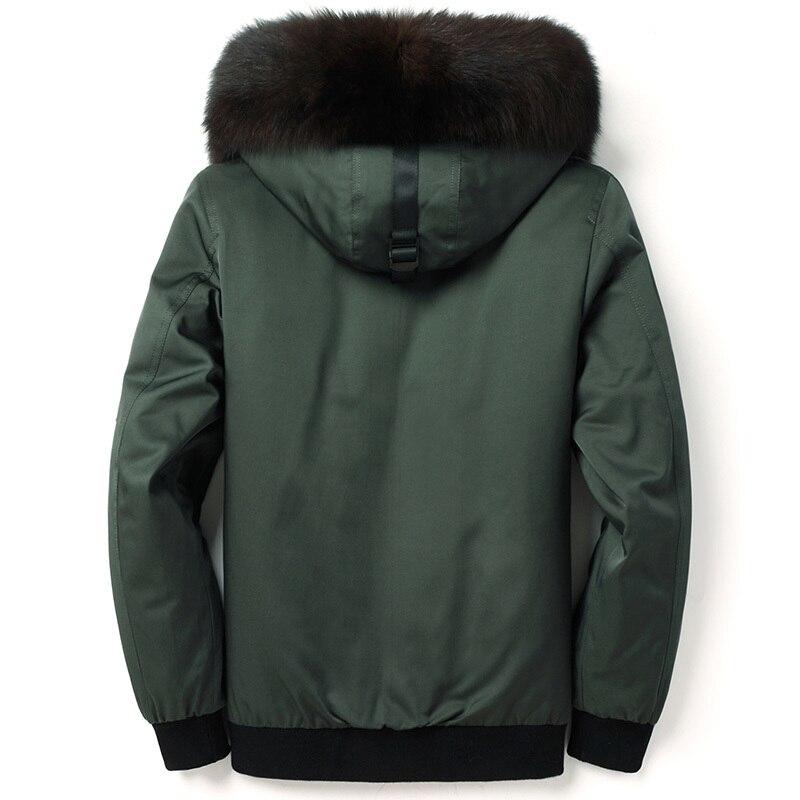 2020 New Parka Real Coat Men Winter Jacket Natural Fox Liner Thick Warm Luxury Fur Coats Parkas De Hombre 4996 KJ3520
