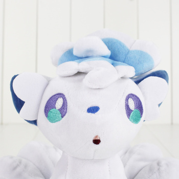K-STAR Toy Pokemon 18cm High Quality  Cotton Soft Stuffed Doll Toy For Children Gift White Plush Cartoon Doll